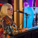 Janet Galpin performs Welcome to Country